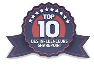 Top 10 of French-speaking SharePoint Community Influencer